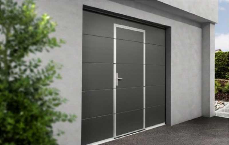 Garagentor mit integrierter tür  Garagentore | Fenstram – Fenster und Türen